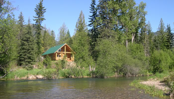 Superb Montana Vacation Cabin Rentals Montana Lodge Bull Lake Home Remodeling Inspirations Genioncuboardxyz